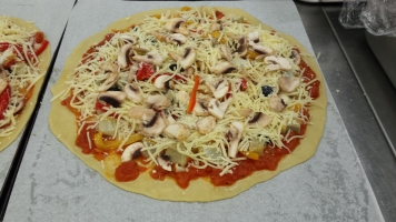 Pizza vegetarienne-min