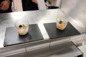 Rafraichissement comtois ( sorbet orange sanguine et griottines de fougerolles au Macvin ) 1-min